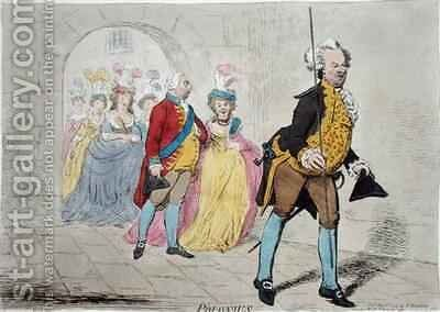 Polonius by James Gillray - Reproduction Oil Painting