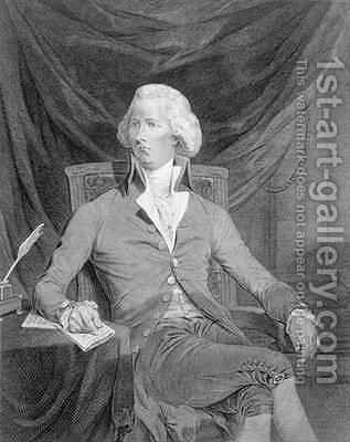 William Pitt 1759-1806 by James Gillray - Reproduction Oil Painting