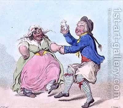 My Poll and My Partner Joe by James Gillray - Reproduction Oil Painting