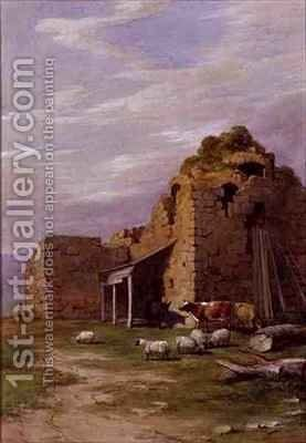 Colqhouny Castle by James William Giles - Reproduction Oil Painting