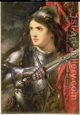 Joan of Arc by Sir John Gilbert - Reproduction Oil Painting