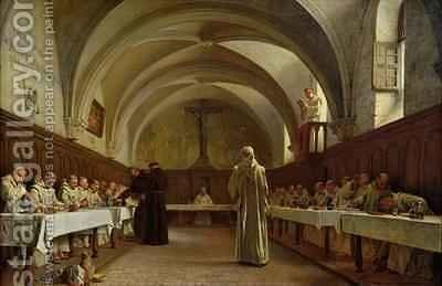 The Refectory by Theophile (Francois Theophile Etienne) Gide - Reproduction Oil Painting