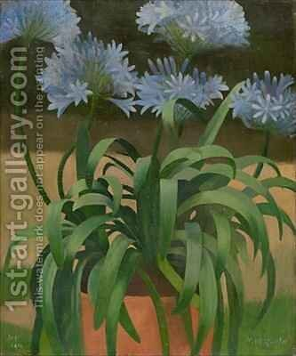 Agapanthus by Mark Gertler - Reproduction Oil Painting
