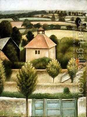 The Pigeon House by Mark Gertler - Reproduction Oil Painting