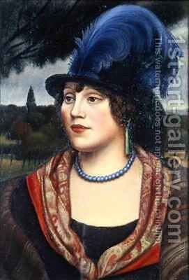 The Coster Woman by Mark Gertler - Reproduction Oil Painting