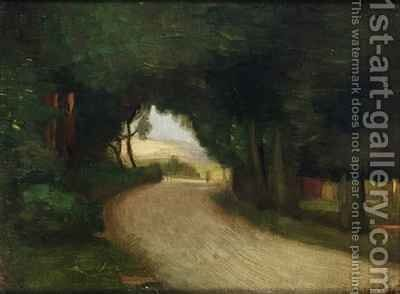 Summer landscape by Mark Gertler - Reproduction Oil Painting