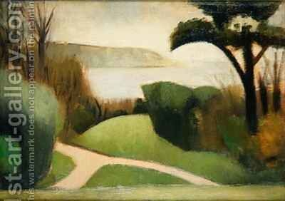 Near Swanage by Mark Gertler - Reproduction Oil Painting