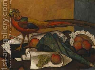 Golden Pheasant by Mark Gertler - Reproduction Oil Painting