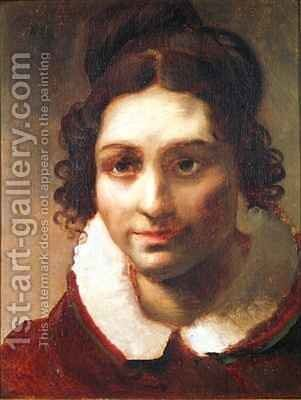 Suzanne or Portrait presumed to be Alexandrine Modeste Caruel de Saint Martin the artists aunt by Theodore Gericault - Reproduction Oil Painting