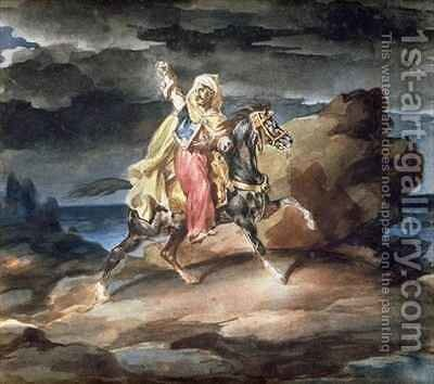 The Giaour by Theodore Gericault - Reproduction Oil Painting