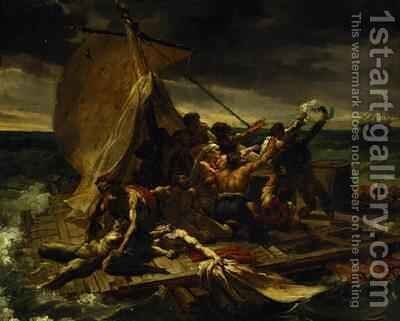 Study for The Raft of the Medusa 3 by Theodore Gericault - Reproduction Oil Painting