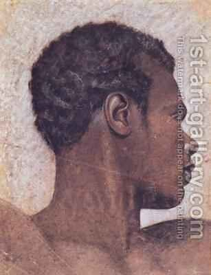 Head of a Negro by Theodore Gericault - Reproduction Oil Painting