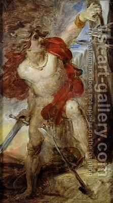 Study for Gaulish Courage by Baron Francois Gerard - Reproduction Oil Painting