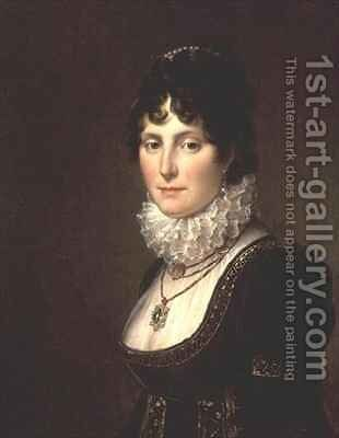 Mary Nisbet Countess of Elgin by Baron Francois Gerard - Reproduction Oil Painting