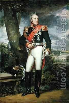 Charles Andre 1764-1832 Count Pozzo di Borgo by Baron Francois Gerard - Reproduction Oil Painting