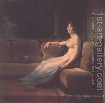The Empress Josephine by Baron Francois Gerard - Reproduction Oil Painting