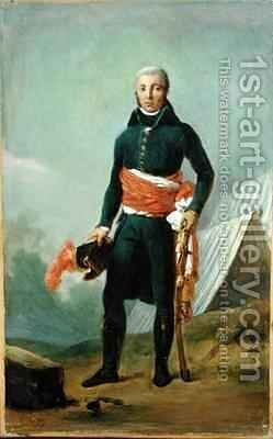 General Jean Victor Moreau 1763-1813 by Baron Francois Gerard - Reproduction Oil Painting