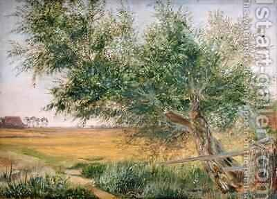 The Old Tree by Jacob Gensler - Reproduction Oil Painting