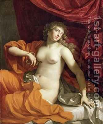 Cleopatra 2 by Benedetto Gennari - Reproduction Oil Painting