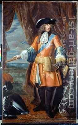 King James II 1633-1701 by Benedetto Gennari - Reproduction Oil Painting
