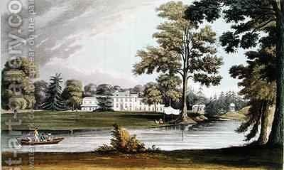 Stoke Place by (after) Gendall, John - Reproduction Oil Painting