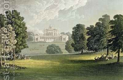Stoke Park by (after) Gendall, John - Reproduction Oil Painting