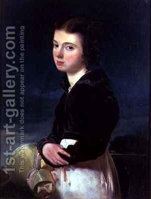 Lady Victoria Campbell by Andrew Geddes - Reproduction Oil Painting