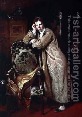 Sir David Wilkie 1785-1841 by Andrew Geddes - Reproduction Oil Painting