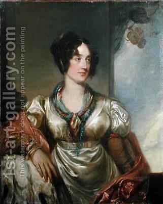 Portrait of Lady Milner by Andrew Geddes - Reproduction Oil Painting