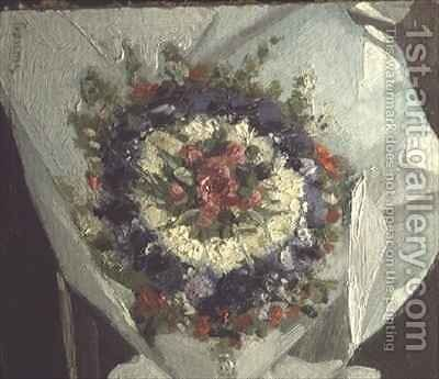 Bouquet of flowers by Marie Madeleine Gaume - Reproduction Oil Painting