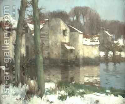 Winter in Normandy by David Gauld - Reproduction Oil Painting