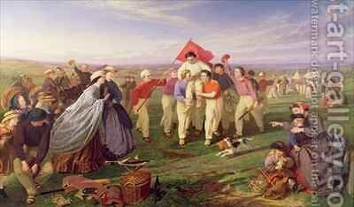 Winner of the Match Excelsior Cricket Club by Henry Garland - Reproduction Oil Painting