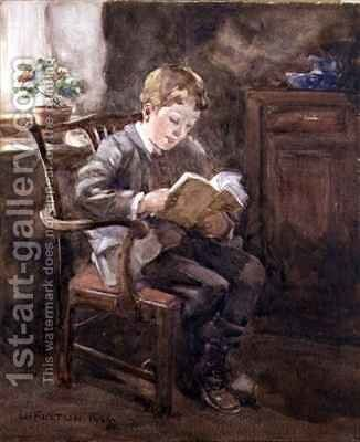 A Good Story by David Fulton - Reproduction Oil Painting
