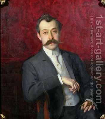 Edwardian Gentleman by Emil Fuchs - Reproduction Oil Painting