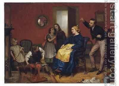The Cure for a Headache by David Henry Friston - Reproduction Oil Painting