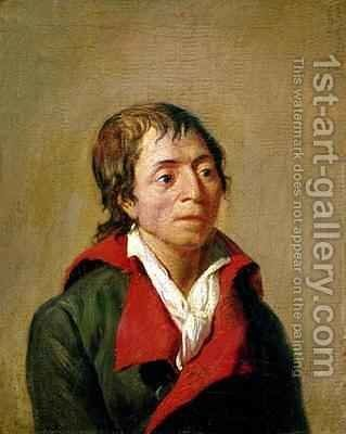 Jean Paul Marat 1743-93 by Jean Francois Garneray - Reproduction Oil Painting