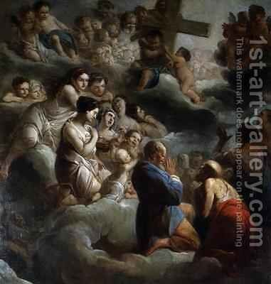 Exaltation of the Cross by Jacques Gamelin - Reproduction Oil Painting