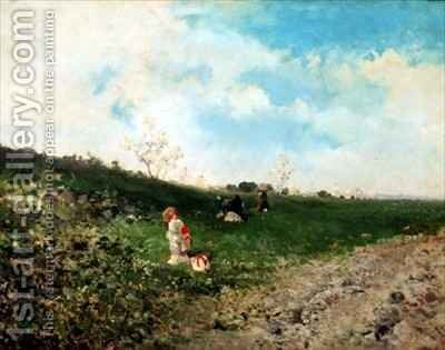 Spring by Baldomero Gallofre Ximenis - Reproduction Oil Painting