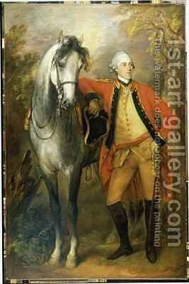 Edward Second Viscount Ligonier by Thomas Gainsborough - Reproduction Oil Painting
