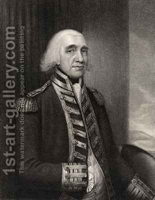Admiral Richard Howe by Dupont Gainsborough - Reproduction Oil Painting