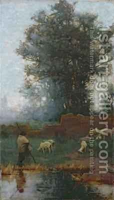 The Shepherd by Charles Wellington Furse - Reproduction Oil Painting