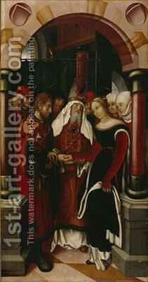 The Betrothal of Mary to Joseph by Hans Fries - Reproduction Oil Painting
