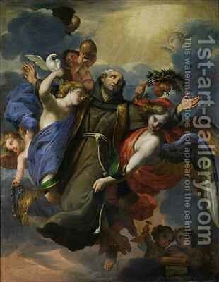 The Ecstasy of St Peter of Alcantara 1499-1562 by Claude Francois - Reproduction Oil Painting