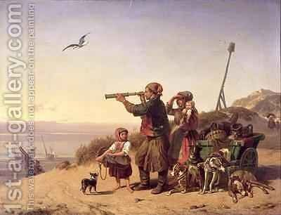 The Smuggler by Alexandre T. Francia - Reproduction Oil Painting
