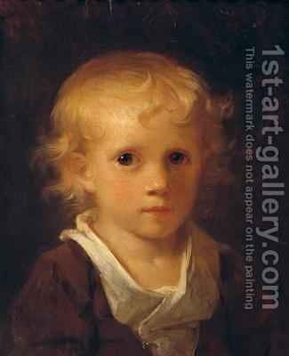 Portrait of a Child by Jean-Honore Fragonard - Reproduction Oil Painting