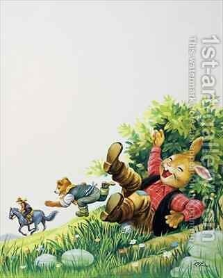 Brer Rabbit 18 by Henry Charles Fox - Reproduction Oil Painting