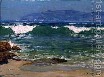 Green Wave Manly by Emanuel Phillips Fox - Reproduction Oil Painting