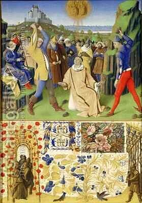 The Suffering of the Saints The Martydom of St Stephen by Jean Fouquet - Reproduction Oil Painting