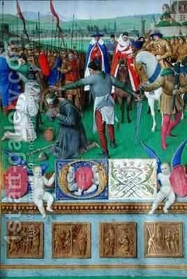 The Martyrdom of St James the Great by Jean Fouquet - Reproduction Oil Painting