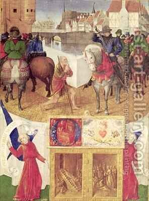St Martin by Jean Fouquet - Reproduction Oil Painting